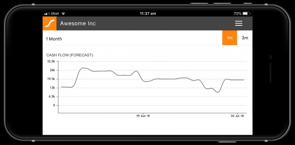 cashflow forecaster graph